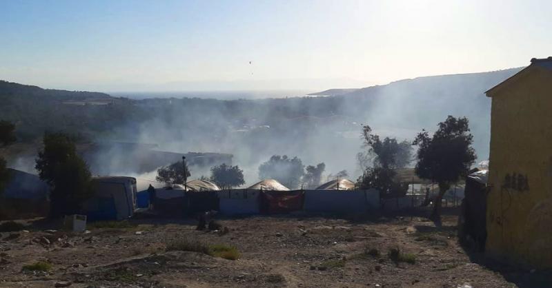 Exigimos seguridad y solidaridad europea para todas las personas que se han quedado sin refugio en Moria
